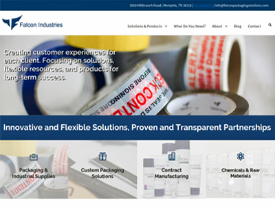 Falcon packaging solutions