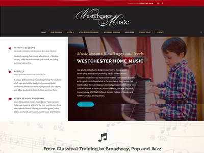 westchester home music