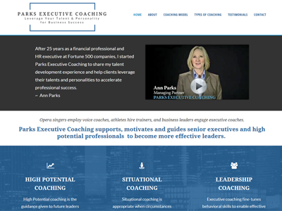 parks executive coaching